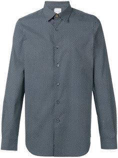 рубашка с мелким узором Paul Smith