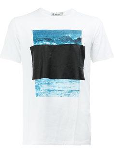 футболка с принтом ocean  Anrealage
