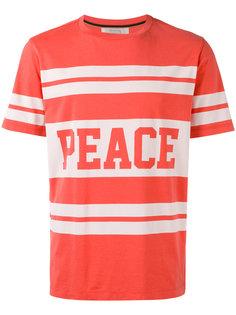 футболка с принтом peace  Paul Smith