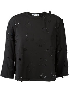 floral cut-out blouse Comme Des Garçons Comme Des Garçons