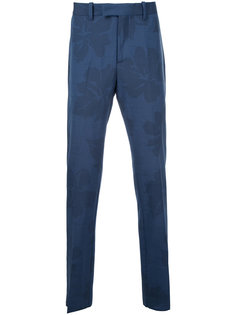 leaf print tailored trousers  Oamc