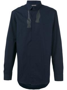 рубашка с принтом в виде развязанной бабочки Neil Barrett