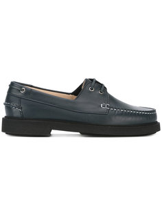 extended sole boat shoes A.P.C.