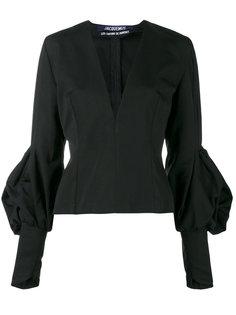 V-neck fitted blouse  Jacquemus