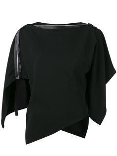 блузка с плоской молнией Issey Miyake