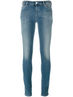 укороченные облегающие джинсы Armani Jeans