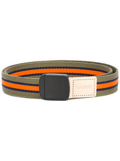 woven stripe belt Ganryu Comme Des Garcons