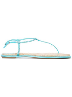embellished T-bar flat sandals René Caovilla