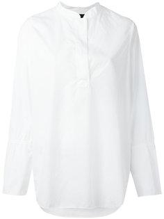 grandad collar loose shirt Hope