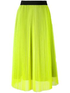 плиссированная юбка длины миди MSGM