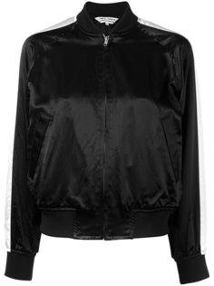куртка-бомбер с полосками на рукавах Comme Des Garçons Comme Des Garçons