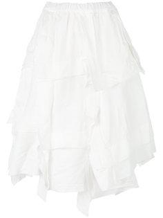 многослойная юбка с драпировками Comme Des Garçons Comme Des Garçons