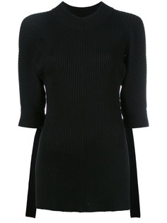 cropped sleeves jumper  Eudon Choi
