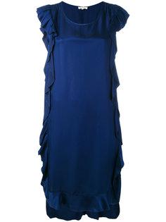 платье без рукавов с отделкой оборками Bellerose