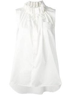drawstring neck blouse  Comme Des Garçons