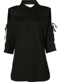 рубашка с открытыми плечами Yohji Yamamoto