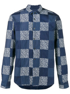 patchwork shirt  Sophnet.