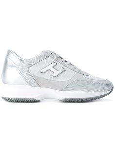 кроссовки с логотипом сбоку Hogan