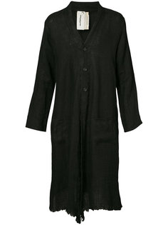 long buttoned robe Horisaki Design & Handel