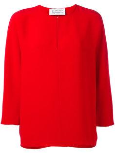 блузка с круглым вырезом Gianluca Capannolo