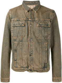 Brick Wash Denim Jacket  Helmut Lang