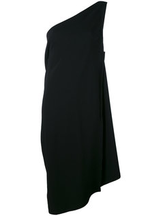 асимметричное платье на одно плечо Issey Miyake