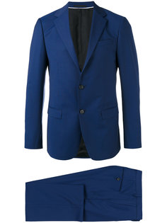 notched lapel two-piece suit Z Zegna