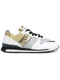 кроссовки R261 на шнуровке Hogan Rebel