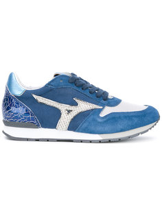 printed panelled sneakers Mizuno