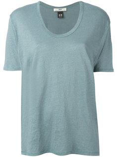 scoop neck T-shirt  Hope