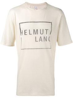 Square Logo T-Shirt  Helmut Lang