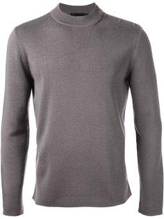 свитер с вязкой в рубчик Alexander McQueen