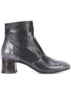 almond toe ankle boots Silvano Sassetti