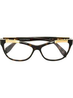 "очки в оправе ""кошачий глаз"" Alexander McQueen"