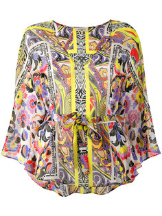 блузка с узором Etro