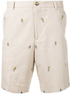 шорты-чинос с вышивкой Kenzo