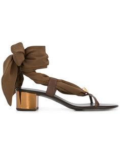 сандалии с лентой вокруг щиколотки Giuseppe Zanotti Design