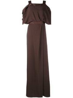 платье с открытыми плечами Max Mara