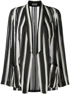 полосатый пиджак Brunello Cucinelli