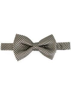 галстук-бабочка с принтом в елочку Tom Ford
