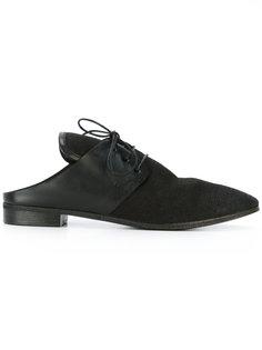 туфли со шнуровкой и открытой пяткой Marsèll