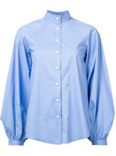 mandarin neck shirt Derek Lam
