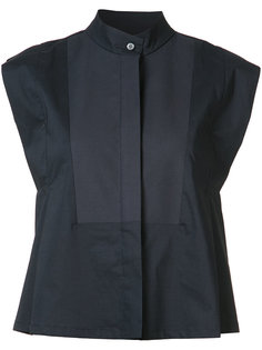 mandarin neck sleeveless shirt Derek Lam