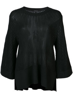 ribbed loose-fit blouse Derek Lam