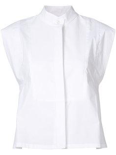 concealed fastening sleeveless shirt Derek Lam