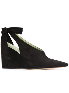 sling-back wedge pumps Derek Lam