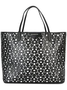 сумка-шоппер Antigona с лазерной отделкой Givenchy