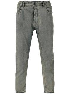 зауженные укороченные джинсы  Rick Owens DRKSHDW