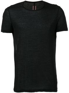 полупрозрачная футболка  Rick Owens DRKSHDW