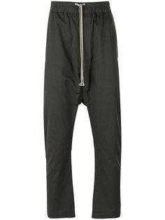 брюки на шнурке с заниженным шаговым швом  Rick Owens DRKSHDW